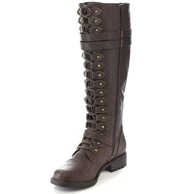 Timberly Steam Punk Boots