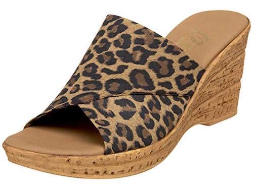 Onex Christina leopard print shoes