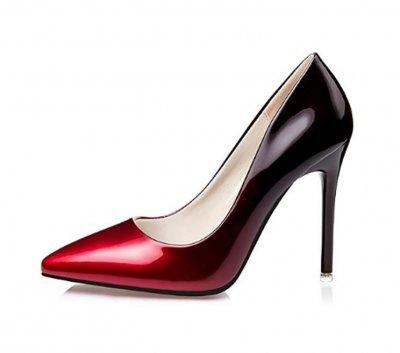 No.66 Town Stiletto red bottom heels