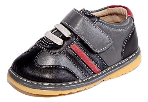 little mae's boutique navy squeaky shoes