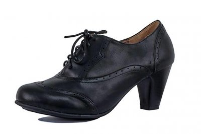 oxford high heels Guilty Shoes Classic Retro