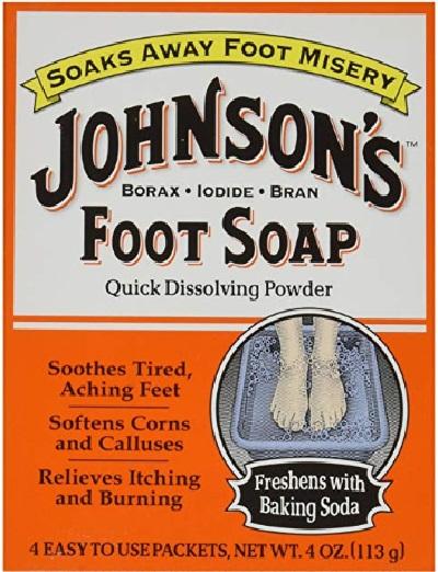 Johnson's Foot Soap