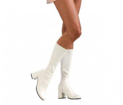 Secret Wishes White go go boots