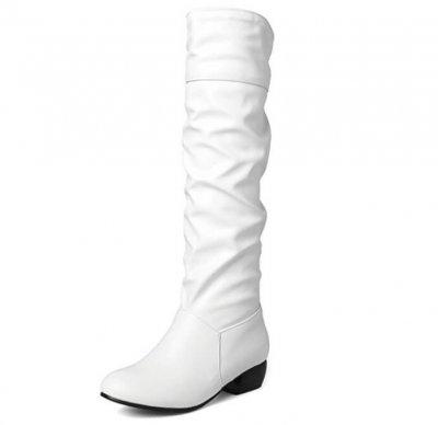 Sungtin Faux Leather go go boots