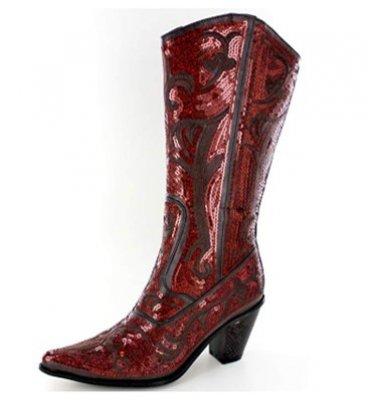 10. Helens Heart Bling Boots