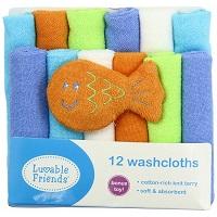 Luvable Friends Washcloths