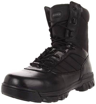 image of Bates Tactical Sport Side Zip best lightweight shoes
