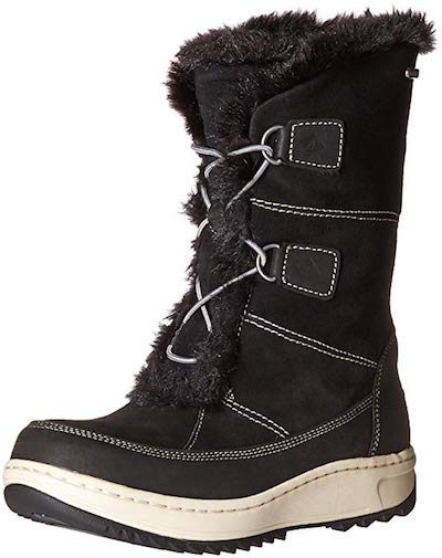 Sperry Powder Valley shoes for walking on ice
