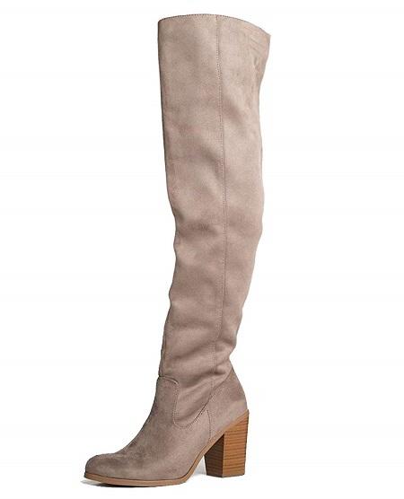 J. Adams Stacked Heel