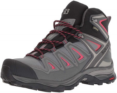 image of Salomon X Ultra 3 Mid best outdoor shoes