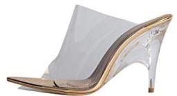 AZALEA WANG Clear PVC Sandal