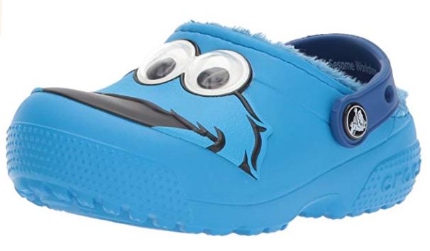 Crocs Funlab Cookie Monster sesame street shoes