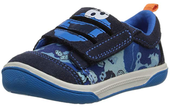 sesame street toddler shoes Stride Rite Cookie Monster