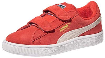 Puma Suede walking shoes for babies learning to walk