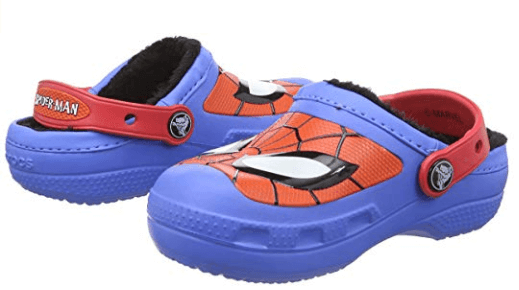 Crocs Lined Clog spiderman shoes for kids