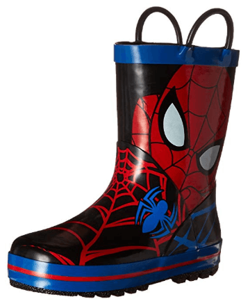Disney Handle Boot spiderman shoes for kids