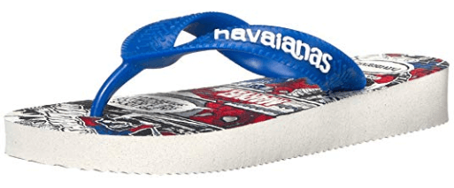 Havaianas spiderman flip flops for kids