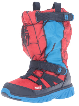 Stride Rite Winter Boot spiderman shoes for kids