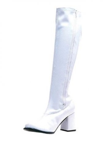 YShops Stretch Knee High go go boots