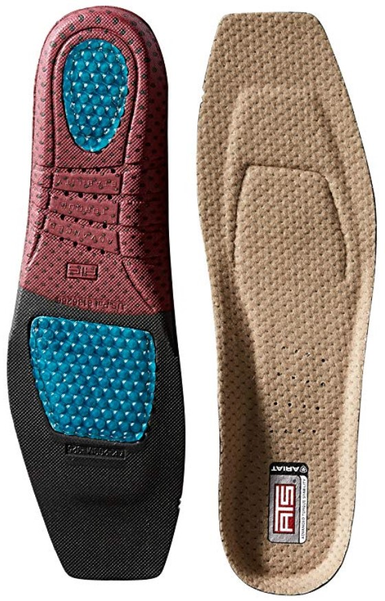 Ariat ATS Footbed Best Insoles for Work Boots