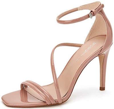 BCBGeneration isabel champagne heels