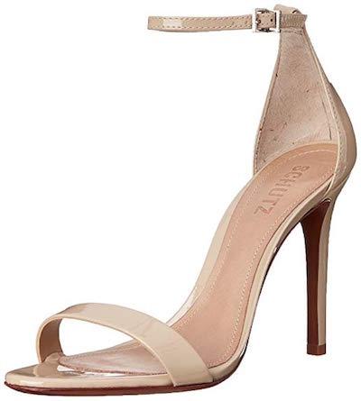 schutz cadey lee champagne heels