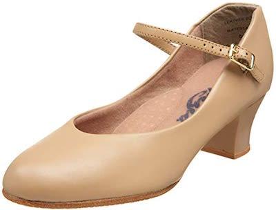 Capezio Jr. Footlight best salsa dance shoes