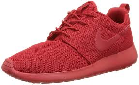 Nike Roshe One red bottom sneakers