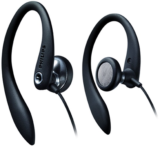 Philips SHS3200BK Model sports headphones