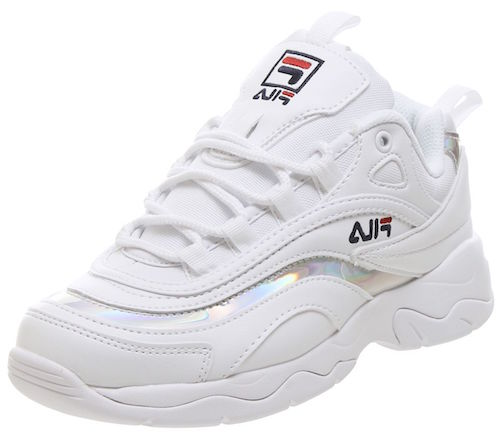 Fila Ray holographic sneakers