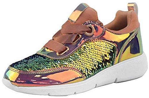Lucky Step Holographic Sneaker