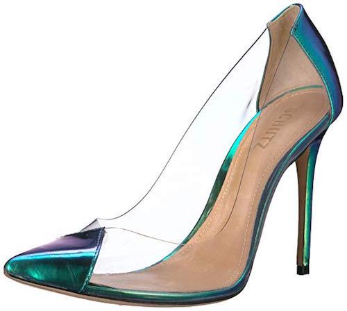 holographic shoes Schutz Cendi model