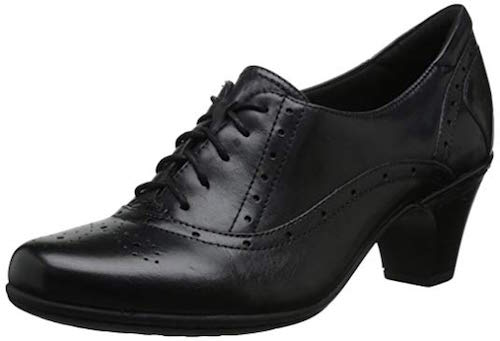 Rockport Cobb Hill Shayla high heel oxford shoes