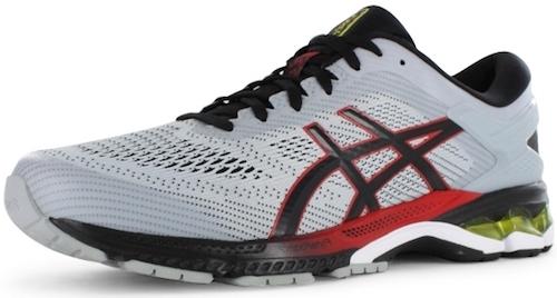 ASICS GEL-Kayano 26 best running shoes for heavy runners