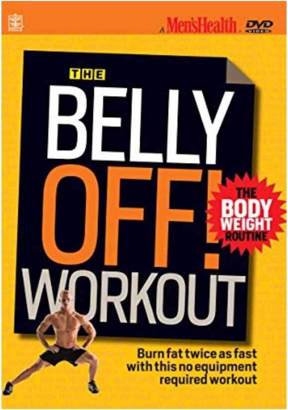 Men's Health: The Belly Off workout DVDs for men