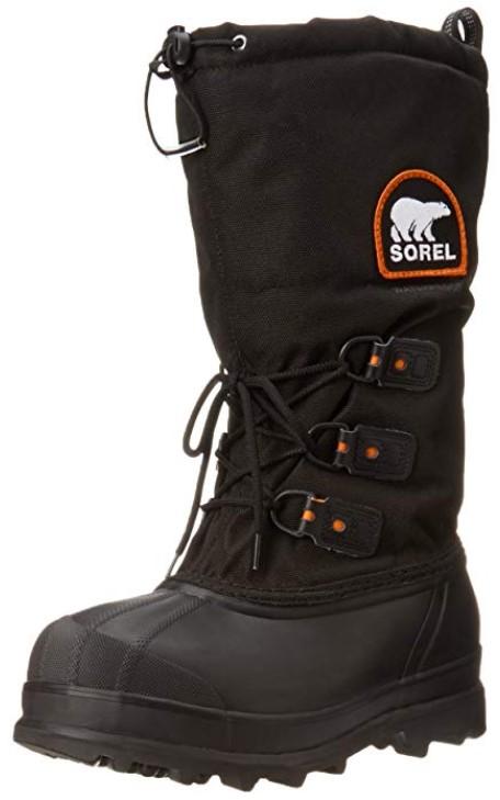 Sorel Glacier ice slip resistant shoes