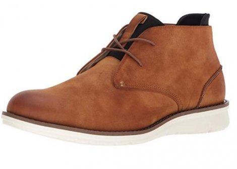Kenneth Cole Casino Chukka light brown & tan boots
