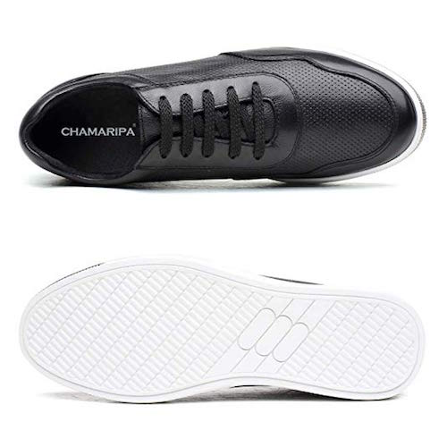 Best Elevator Shoes Chamaripa Leather Sneaker