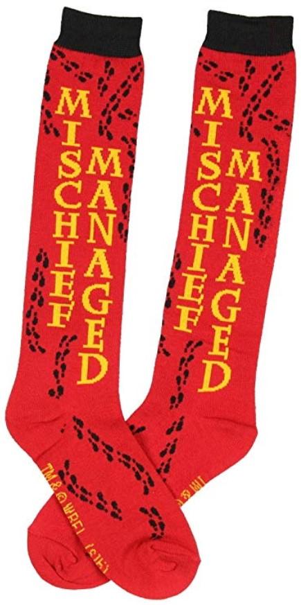 Harry Potter Mischief Managed Best Harry Potter Socks