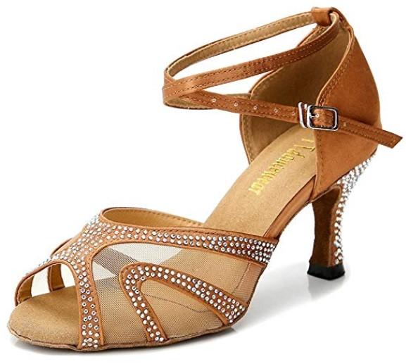 TTdancewear Rhinestone Best Ballroom Shoes