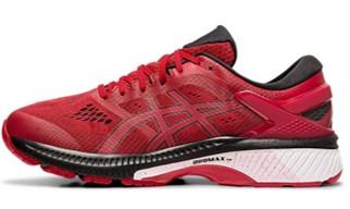 ASICS GEL-Kayano 26 red bottoms sneakers
