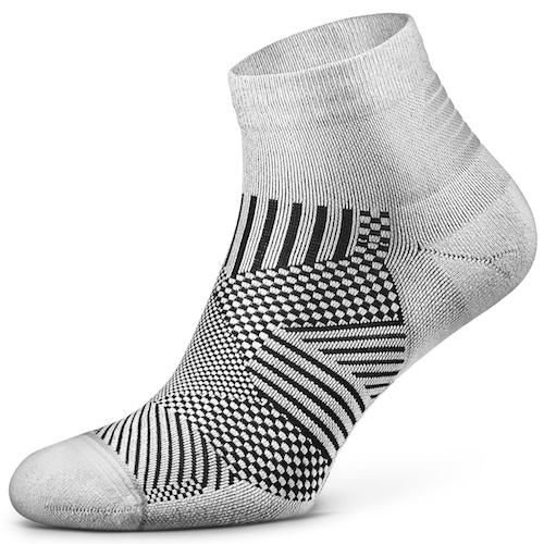 Flare Quarter Socks Seamless Toe