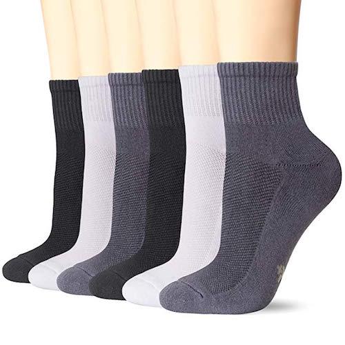 Best Bamboo Socks +MD Cushioned Quarter