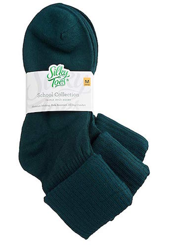 Best Bamboo Socks Silky Toes Turn Cuff