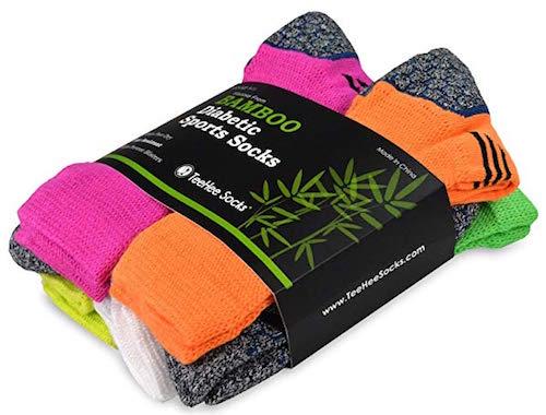 Best Bamboo Socks TeeHee Diabetic Cushion