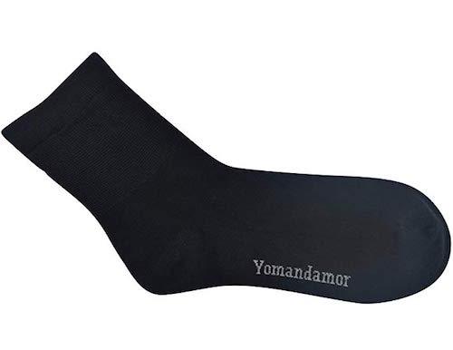 Best Bamboo Socks Yomandamor Diabetic Crew