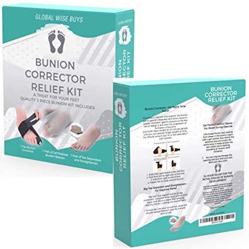 Best Bunion Straighteners Global Wise Buys Orthopedic Bunion Corrector