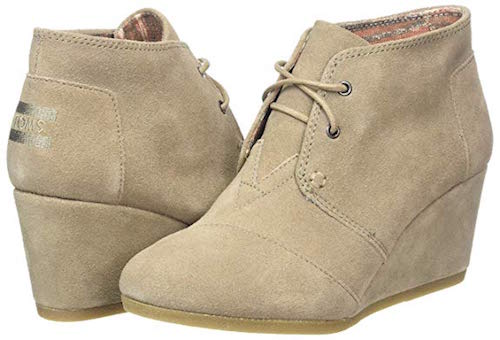 Best Casual Boots Toms Desert Wedge