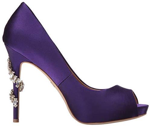 Best Party Shoes Badgley Mischka Royal