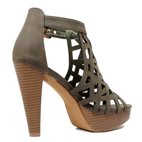Best Sexy High Heels Guilty Shoes Cutout Gladiator